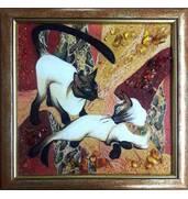 Картины и панно из янтаря купить недорого в Украине