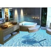 Наливна підлога з малюнком: оригінальне рішення для вашого приміщення!