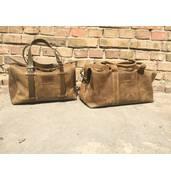 Шкіряна дорожня сумка чоловіча від ПП Давидов — 5 років бездоганної якості!