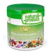 Загальзміцнювальна і тонізуюча формула - Поліензім 7 - багатокомпонентний препарат натурального походження купити у виробника.