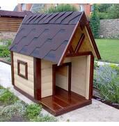 Собачі будки купити на замовлення будь-якого розміру та рівня складності