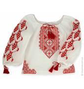 Красиві дитячі вишиванки для дівчинки купити можна у Кирюшків!