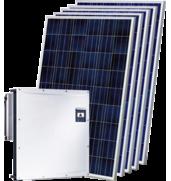 Сетевые солнечные электростанции различной мощности