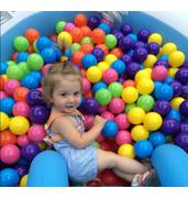 В компании Непоседа Вы можете купить шарики для сухого бассейна поштучно и в наборе