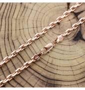 Ланцюжок Якірний, довжина 60 см, ширина 3 мм, вага 17.8 г, позолота РО