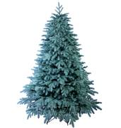 Литая голубая пышная елка в продаже
