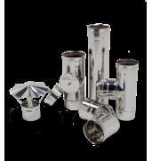 Купуйте надійний димохід для газового котла з нержавійки у нас