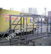 В продаже автоматические откатные ворота под ключ