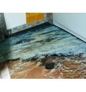 Наливні підлоги з малюнком під ключ