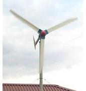 Ветряной генератор с тремя лопастями доступен для заказа