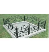 Изготавливаем кованые ограждения для установки на кладбищах