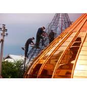Предлагаем изготовление церковных куполов