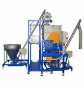 В наличии универсальное оборудование для приготовления стирального порошка, бытовой химии, фармпрепаратов