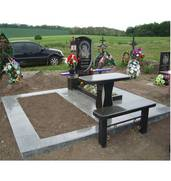 Пропонуємо виготовлення пам'ятників та аксесуарів для кладовища