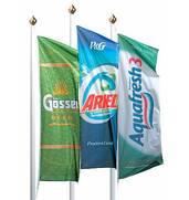 Терінове виготовлення прапорів з вашою емблемою на замовлення