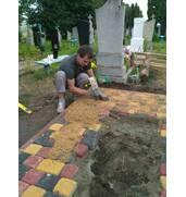 Гарантируем надежную установку надгробных памятников