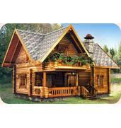 """Компанія """"Хата-Зруб"""" займається виготовленням дерев'яних будинків"""