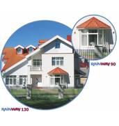 Система водовідведення RainWay 130 і RainWay 90