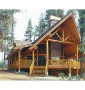 We build modern houses, log cabin from the Carpathians