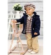 Детские костюмы для маленьких джентльменов: польский бренд «Krasnal»