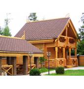 The wooden house from timber: quickly, efficiently, cheaply