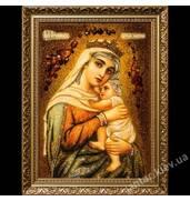 Здесь можно купить икону из янтаря с ликом Богородицы