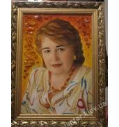 Портрет из янтаря под заказ. Узнайте, где такое возможно!