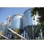 Быстрое строительство силосов для хранения зерна