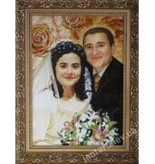 Настоящий эксклюзив! Свадебные портреты из янтаря!