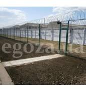Продаж колючого дроту, парканів та огорож Єгоза (Україна). Вигідна пропозиція!