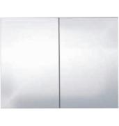 Шкафчик зеркальный Alano, коричневый дуб