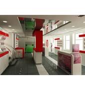 Предлагаем дизайн интерьера магазина