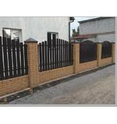 Будівництво паркану з металевого штахетника