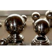 Изготовление шаров из нержавеющей стали (булат) с напылением нитрид титана