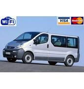 Аренда микроавтобуса Opel Vivaro с водителем
