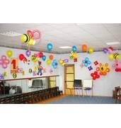 Оформление воздушными шарами 1 Сентября