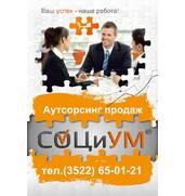 Аутсорсинг продаж, маркетинг, тренинги, семинары, социологические исследования, аудит