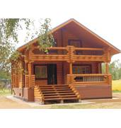 """Turnkey"" construction of wooden houses"