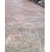 Выполняем работы по обустройству участков по технологии штампованный бетон, декоративный бетон, топбетон