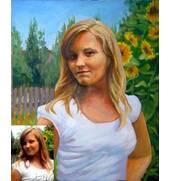 Выполнение картин на заказ, портретов по фото