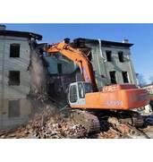 Демонтажные работы, демонтаж старых зданий в Луцке