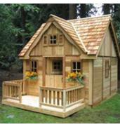 Изготовление детских деревянных домов в Украине