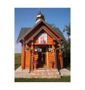 Будівництво дерев'яних церков по Україні