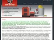 Сайт компанії Металіст