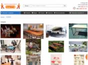 Складні меблі «Стелс»: столи, стільці, лавки, тележки