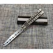 Нож бабочка тренировочный 22см / М-277