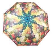 TRC Складной зонт Fulton Зонт женский компактный механический FULTON FULL849-Flowers-vase