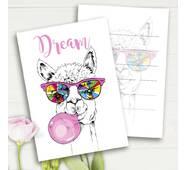 """Міні листівки """"Dream"""" (10 штук)"""