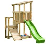 Дитячий майданчик Blue Rabbit Cascade з 2 гірками Зелена