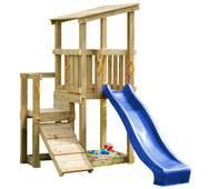 Дитячий майданчик Blue Rabbit Cascade з 2 гірками Синя